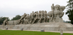 Monumento às Bandeiras. Picture: François Philipp