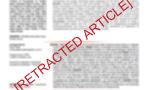 Retraction of scientific works and pseudoscience