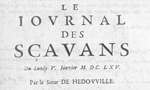 "350 years of scientific publication: from the ""Journal des Sçavans"" and Philosophical Transactions to SciELO"