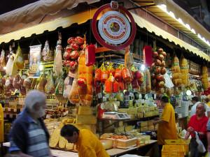 Tienda de queso y fiambres. Foto: Fernando Stankuns.