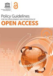 Guía UNESCO para políticas de desarrollo y promoción del Acceso Abierto