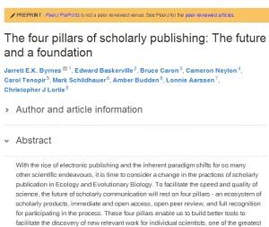 Imagem do artigo publicado no PeerJ PrePrints.