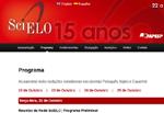 Agenda de discussão sobre o desenvolvimento futuro da Rede SciELO
