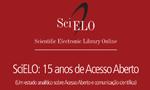 UNESCO e SciELO lançam livro sobre os 15 Anos do SciELO